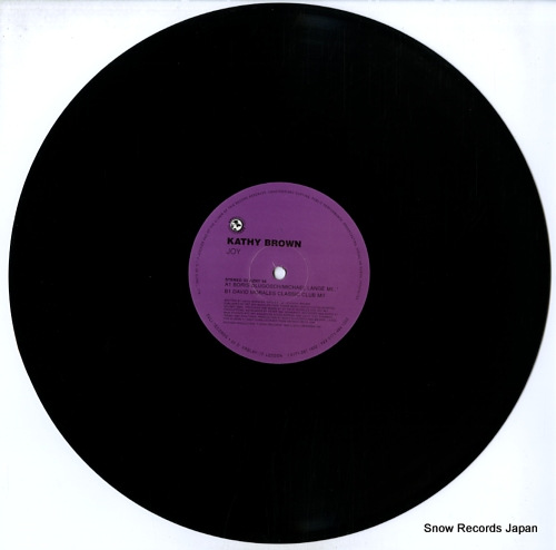 BROWN, KATHY joy (boris dlugosch / david morales mixes) AZULI94 - disc