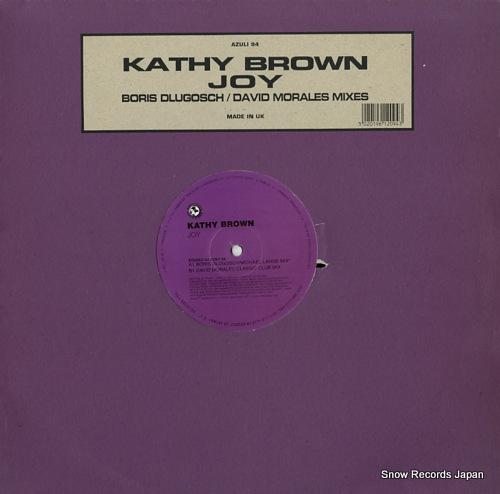 BROWN, KATHY joy (boris dlugosch / david morales mixes) AZULI94 - front cover