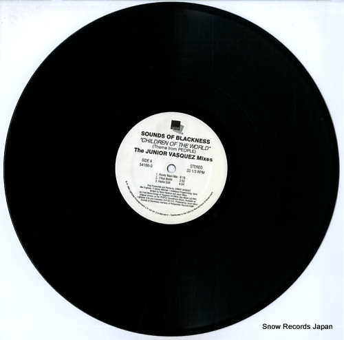 SOUNDS OF BLACKNESS childen of the world (theme from people) 54166-0 - disc