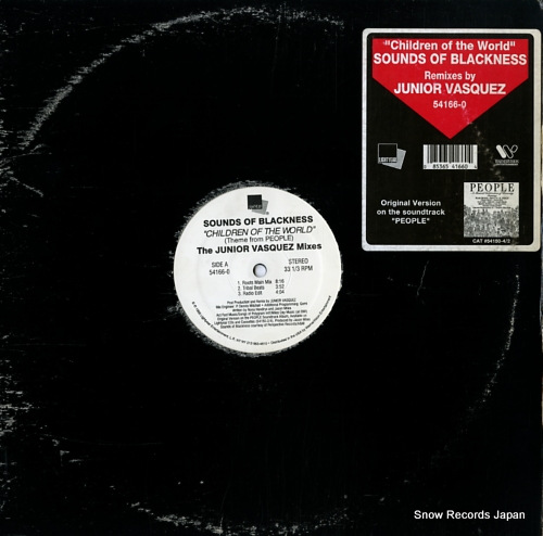 SOUNDS OF BLACKNESS childen of the world (theme from people) 54166-0 - front cover
