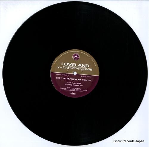 LOVELAND let the music (lift you up) KMSUKT10 - disc