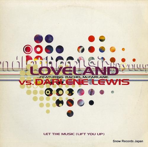 LOVELAND let the music (lift you up) KMSUKT10 - front cover