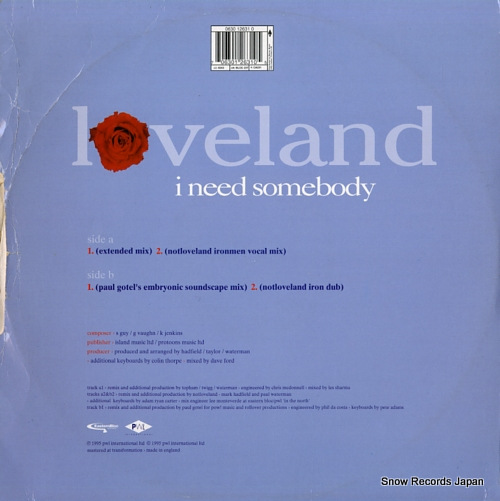 LOVELAND i need some body BLOC23T - back cover