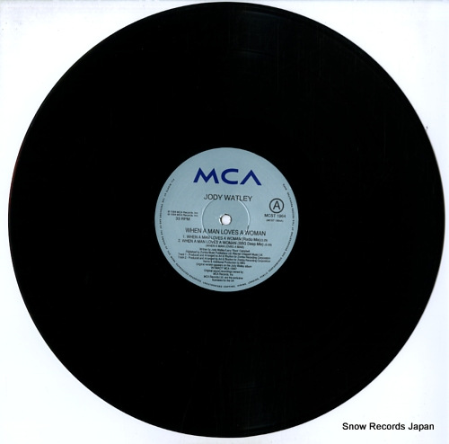WATLEY, JODY when a man loves a woman MCST1964 - disc