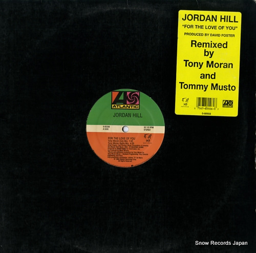 HILL, JORDAN for the love of you 0-85506 - front cover