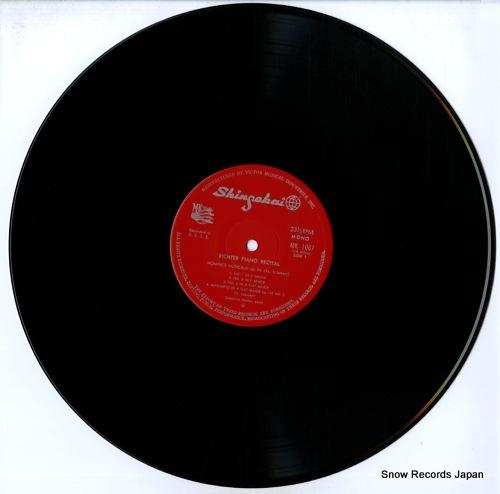 RICHTER, SVIATOSLAV piano recital MK-1067 - disc