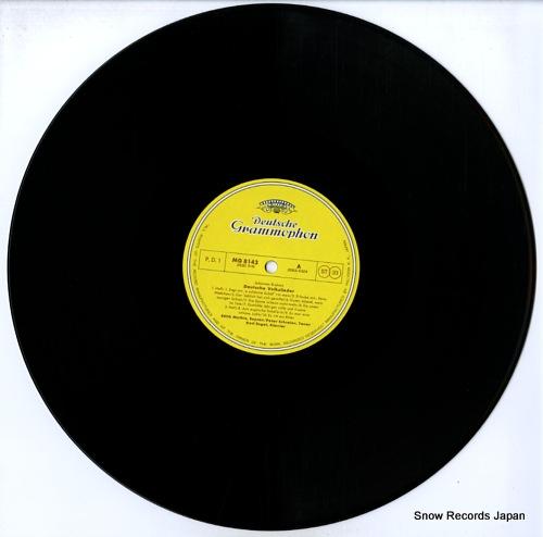 NEUMANN, HORST brahms; folksongs MG8143/5 - disc
