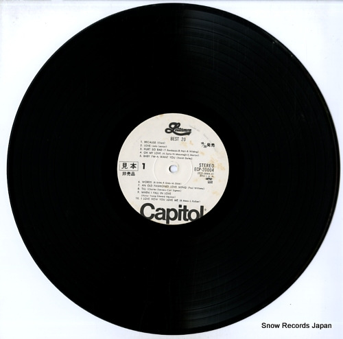 LETTERMEN, THE best 20 ECP-20004 - disc