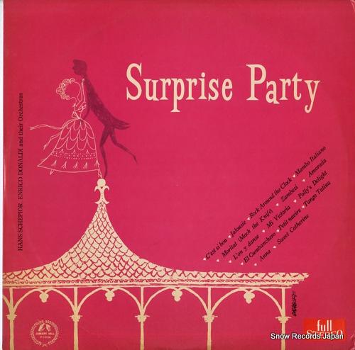 DONALDI, ENRICO / HANS SCHEPIOR surprise party P-1210A - front cover