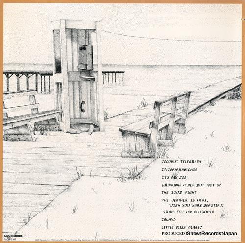 BUFFETT, JIMMY coconut telegraph MCA-5169 - back cover