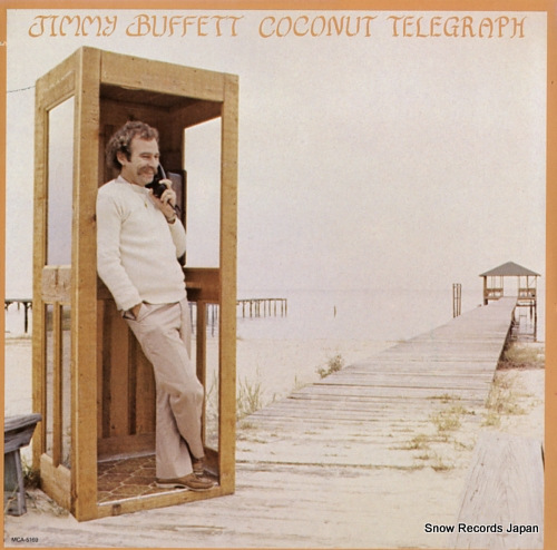 BUFFETT, JIMMY coconut telegraph MCA-5169 - front cover