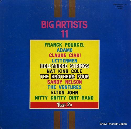V/A big artists 11 PRP-8012-3 - front cover