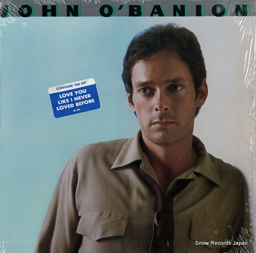 O'BANION, JOHN john o'banion 6E-342 - front cover