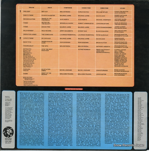V/A great m.g.m. film themes 2353060 - back cover