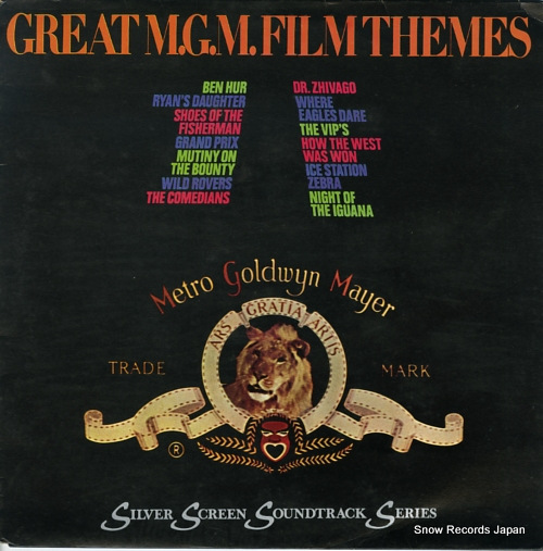 V/A great m.g.m. film themes 2353060 - front cover