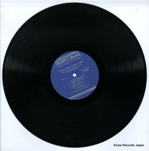 WALKER, SAMMY songs from woody's pen FTS31064 - disc