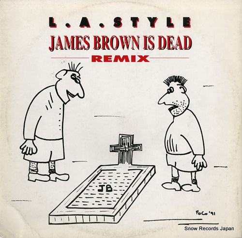 L.A. STYLE james brown is dead (remix) ZYX6586R-12 - front cover