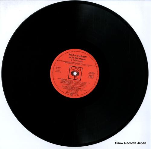 FUGAIN, MICHEL a l'olympia CBS88044 - disc