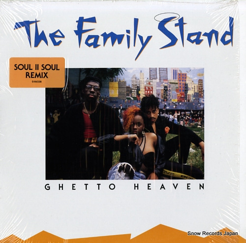 FAMILY STAND, THE ghetto heaven 0-86238 - front cover