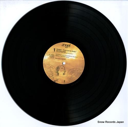 FISCHER-DIESKAU, DIETRICH schubert; death and the maiden & other songs S36342 - disc