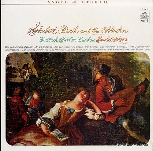 FISCHER-DIESKAU, DIETRICH schubert; death and the maiden & other songs S36342 - front cover