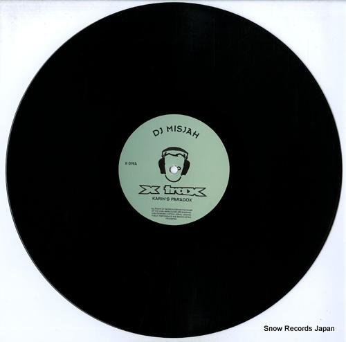DJ MISJAH karin's paradox X-019 - disc