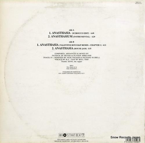 T99 anasthasia(rap version remix) WHOSR50 - back cover
