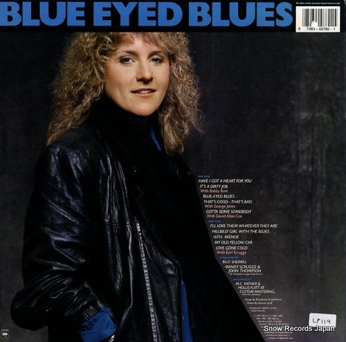 LACY J.DALTON blue eyed blues FC40780 - back cover