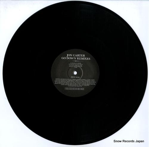 CARTER, JON go down remixes SROW003X - disc