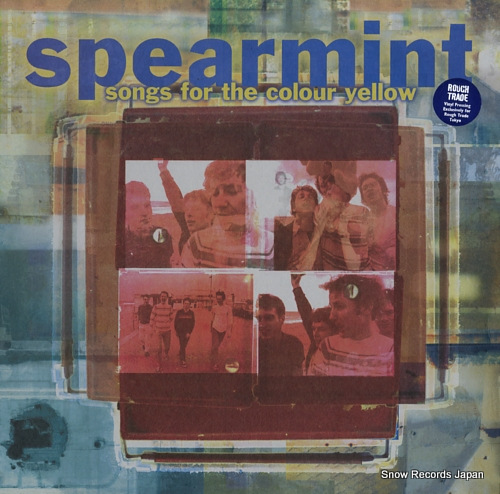 SPEARMINT songs for the colour yellow FU002 - front cover