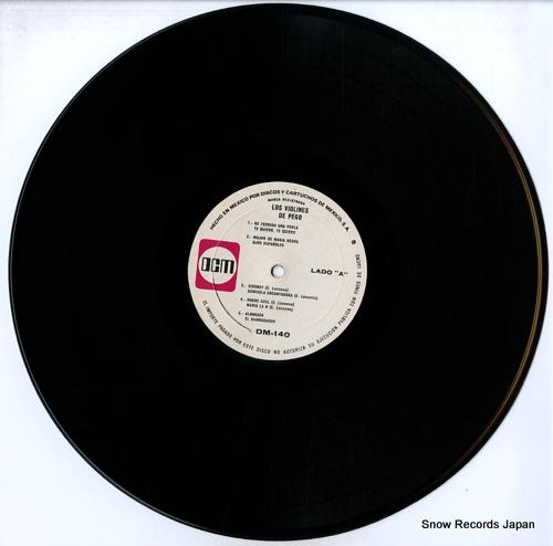 LOS VIOLINES DE PEGO nuevas grabaciones (album 10) DM-140 - disc