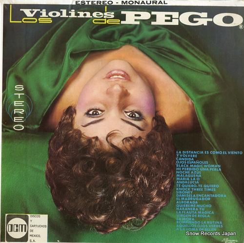 LOS VIOLINES DE PEGO nuevas grabaciones (album 10) DM-140 - front cover