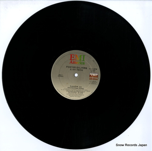 SYLVERS, FOSTER / HY-TECH flavour (special extended version) V-19229 - disc