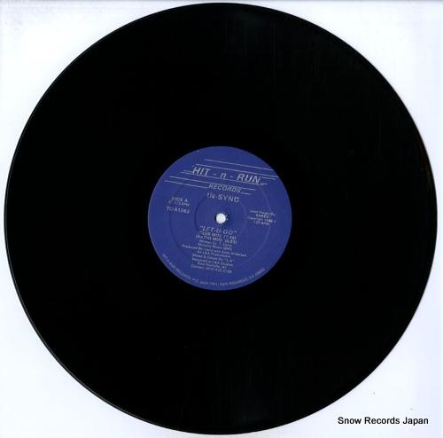 IN-SYNC let-u-go TC-51262 - disc