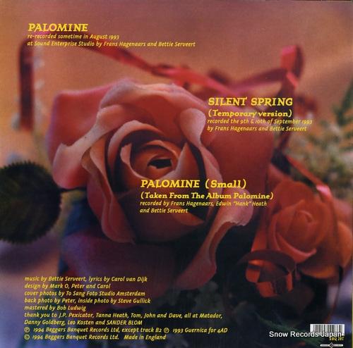 BETTIE SERVEERT palomine BBQ28T - back cover