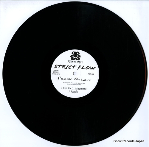 STRICT FLOW people on lock / radio RSP008 - disc