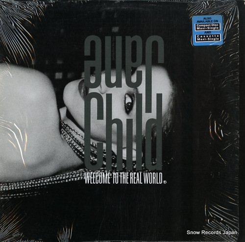 CHILD, JANE welcome to the real world 921537-0 - front cover