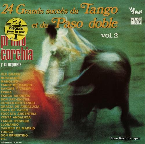 プリモ・コルチア 24 grands succes du tango et du paso doble vol.2 400050/DP.50