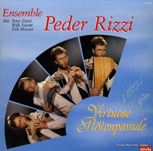 PEDER RIZZI virtuose flotenparade / ensemble peder rizzi H365