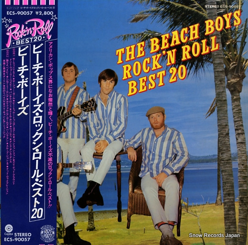 BEACH BOYS, THE rock'n roll best 20 ECS-90057 - front cover