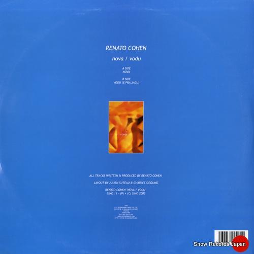 COHEN, RENATO nova / vodu SINO11 - back cover