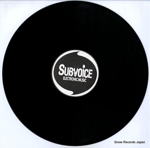 SUBVOICE / SUBHEAD subvoice vs subhead SUBV15 - disc