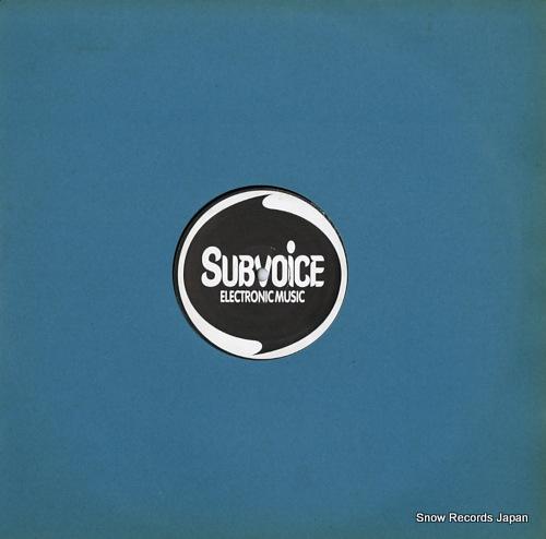 SUBVOICE / SUBHEAD subvoice vs subhead SUBV15 - front cover
