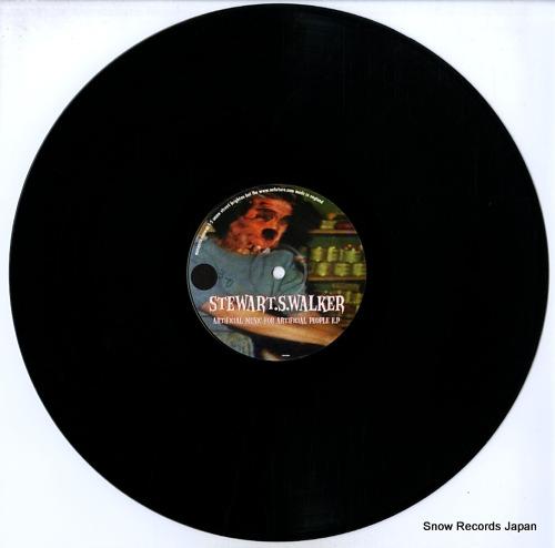 WALKER, STEWART artificial music for artificial people e.p MSQ012 - disc