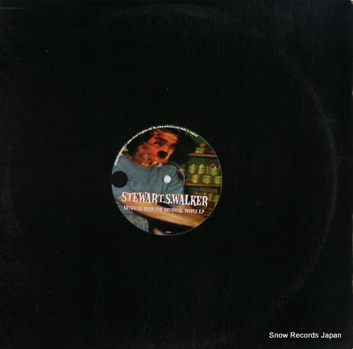 WALKER, STEWART artificial music for artificial people e.p MSQ012 - front cover