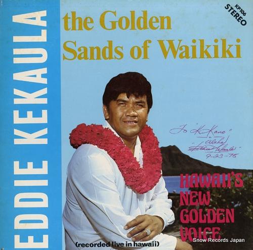 エディ・ケカウラ the golden sands of waikiki KP106/V42365