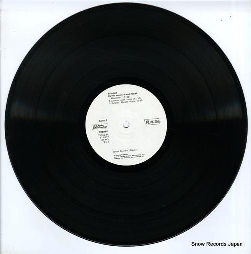 ZECHLIN, DIETER schubert; klaviersonate a-moll d.845 / c-dur d.840 ET-5117 - disc