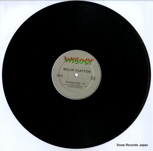 CLAYTON, WILLIE rocking chair WAR013 - disc