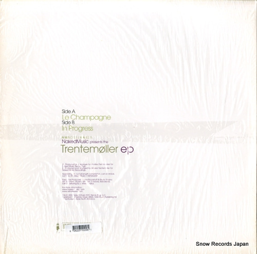 TRENTEMOLLER trentemoller ep NMS025/NAK25 - back cover