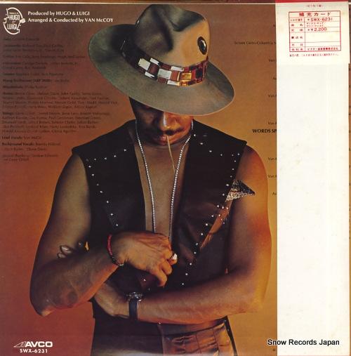 MCCOY, VAN the disco kid SWX-6231 - back cover